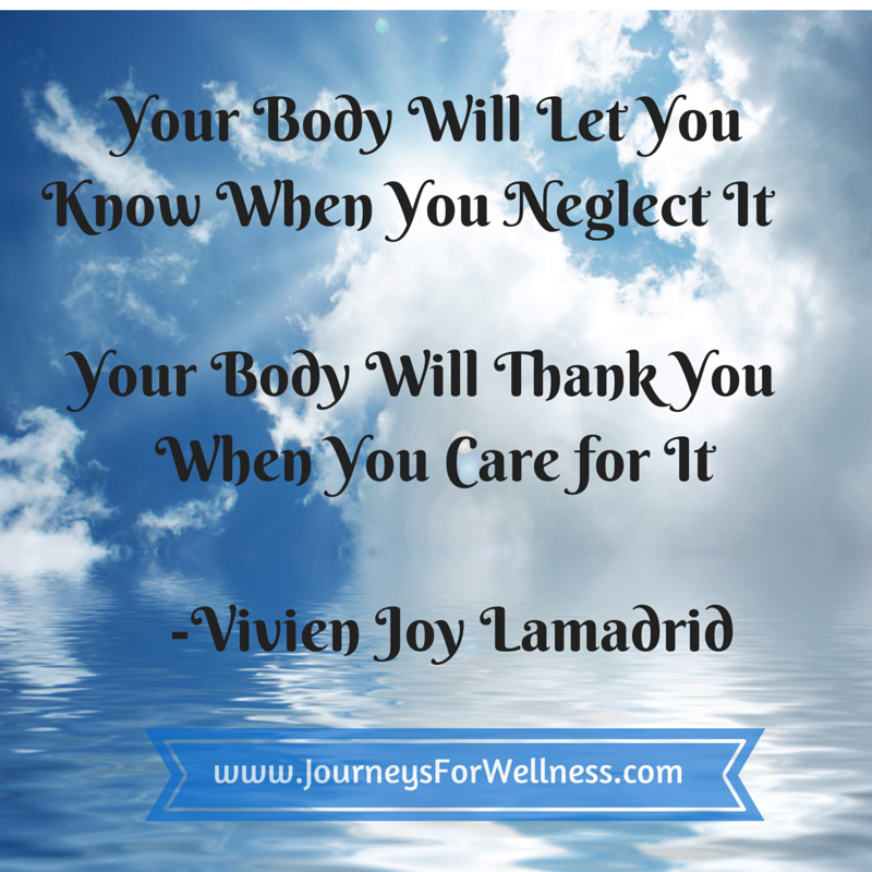 Your Body Will Let You Know When You(2)